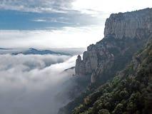 Montserrat, Barcelona, España Foto de archivo libre de regalías