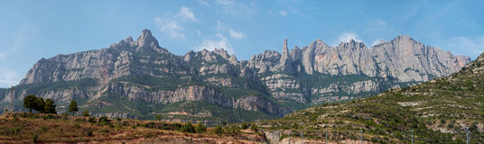 Montserrat Barcelona, in Katalonien Lizenzfreie Stockfotografie
