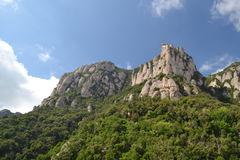 Montserrat, Barcelone Photos stock