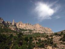 montserrat berg Royaltyfri Foto