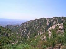 Montserrat berg Stock Afbeeldingen
