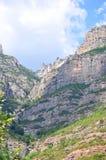 Montserrat berg Royalty-vrije Stock Afbeelding