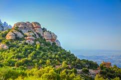 Montserrat berg Royaltyfri Bild