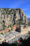 Montserrat bergkloster, Spanien Arkivbild