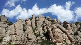 Montserrat, Catalogne Photos stock