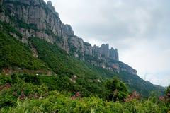 Montserrat Catalonia Spain royalty free stock image
