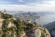 Montserrat,Catalonia,Spain Royalty Free Stock Photos