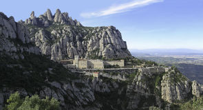 Montserrat, Catalonia, Spain Stock Photography