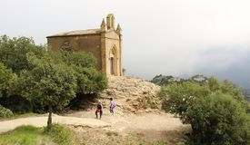 Montserrat chapel Royalty Free Stock Images