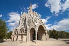 Montserrat Church in Montferri Stock Photo