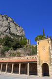 Montserrat cloister,Spain Royalty Free Stock Images