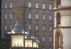 Montserrat Cross Royalty Free Stock Photos