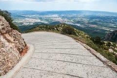 Montserrat en España Imagen de archivo libre de regalías