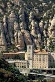 Montserrat en Espagne Photos libres de droits