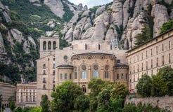 Montserrat en Espagne Photographie stock