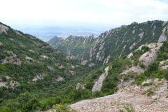 Montserrat, Espagne Photos libres de droits