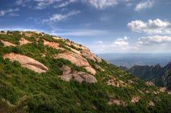 montserrat gór widok Zdjęcie Royalty Free