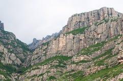 Montserrat góra. Hiszpania Obraz Royalty Free