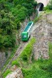 Montserrat góry pociąg Zdjęcie Royalty Free