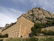 Montserrat heiligdom royalty-vrije stock foto's