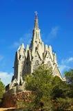 Montserrat Heiligdom, Montferri, Spanje stock afbeeldingen