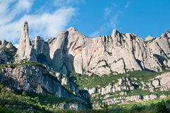 Montserrat hills Royalty Free Stock Photography