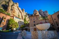 Montserrat Hiszpania Zdjęcia Stock