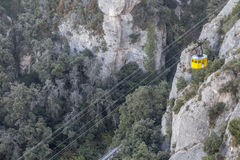 Montserrat, Katalonien, Spanien Lizenzfreies Stockfoto