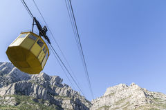 Montserrat, Katalonien, Spanien Lizenzfreies Stockbild