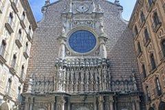 Montserrat katedra Fotografia Stock