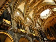 Montserrat-Kirche Stockbilder