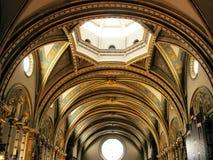 Montserrat-Kirche Stockfotografie