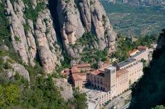 Montserrat-Kloster Lizenzfreie Stockbilder
