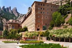 Montserrat-Kloster, Barcelona, Katalonien, Spanien. Lizenzfreies Stockbild