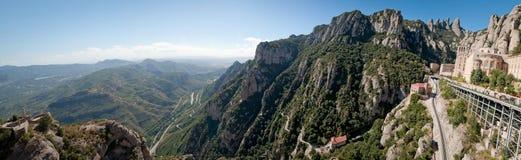 Montserrat-Kloster, Spanien Stockfotografie
