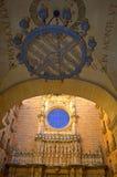 Montserrat kościół podwórze zdjęcie stock