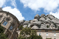 Montserrat monaster Fotografia Stock