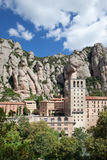 Montserrat monaster w Hiszpania Obraz Royalty Free
