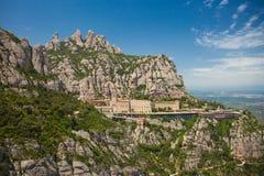 Montserrat Monastery Royaltyfri Bild