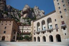 Montserrat Monastery Royaltyfri Foto