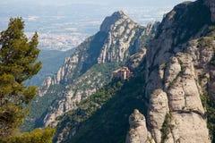 Montserrat Monastery Arkivbilder