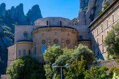 Montserrat Monastery lizenzfreie stockfotografie