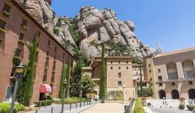 Montserrat Monastery stockfoto
