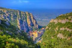 Montserrat Monastery arkivfoton