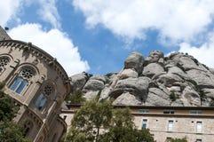 Montserrat Monastery fotografía de archivo