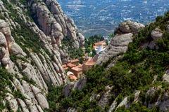 Montserrat monastery Royalty Free Stock Image