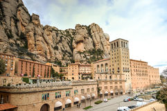 Montserrat Monastery, Catalonia, Spain Royalty Free Stock Images