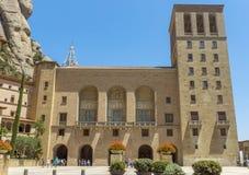 Montserrat Monastery cerca de Barcelona Imagen de archivo