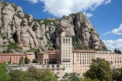 Montserrat Monastery en Cataluña imágenes de archivo libres de regalías