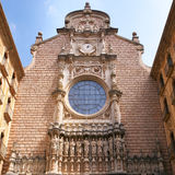 Montserrat Monastery facade Royalty Free Stock Images